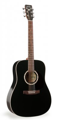ART & LUTHERIE Folk Cedar black Dreadnought