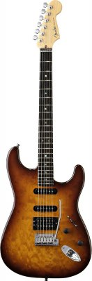Fender American Deluxe Stratocaster QMT HSS