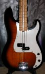 FENDER Select P-Bass MN 2TS