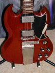 Gibson SG Gary Rossington