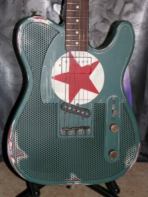 James Trussart Steelcaster Red Star