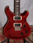 PRS Custom 24 Ten Top Scarlet Red